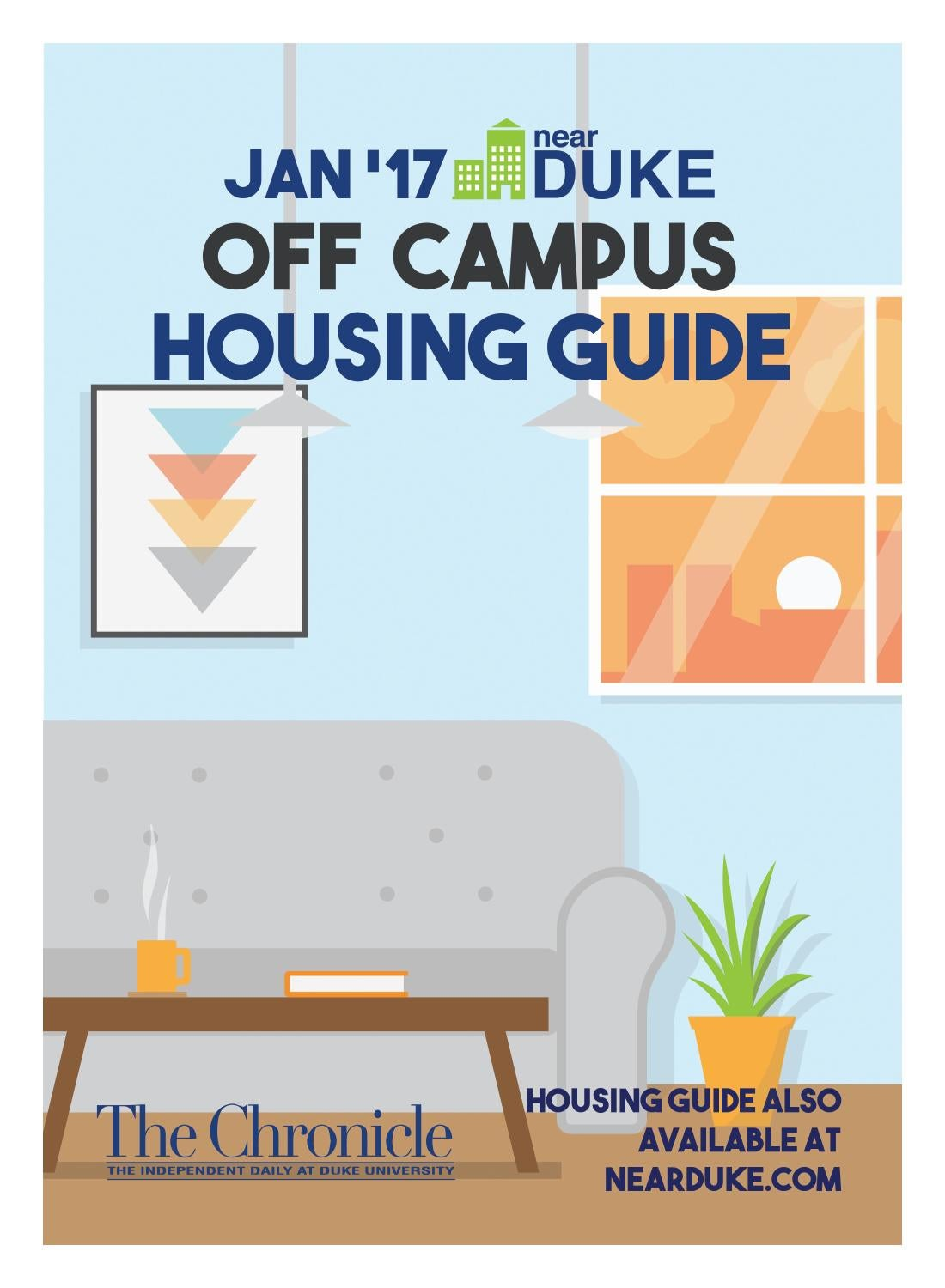 Off Campus Housing Guide 2017 by Duke Chronicle - issuu
