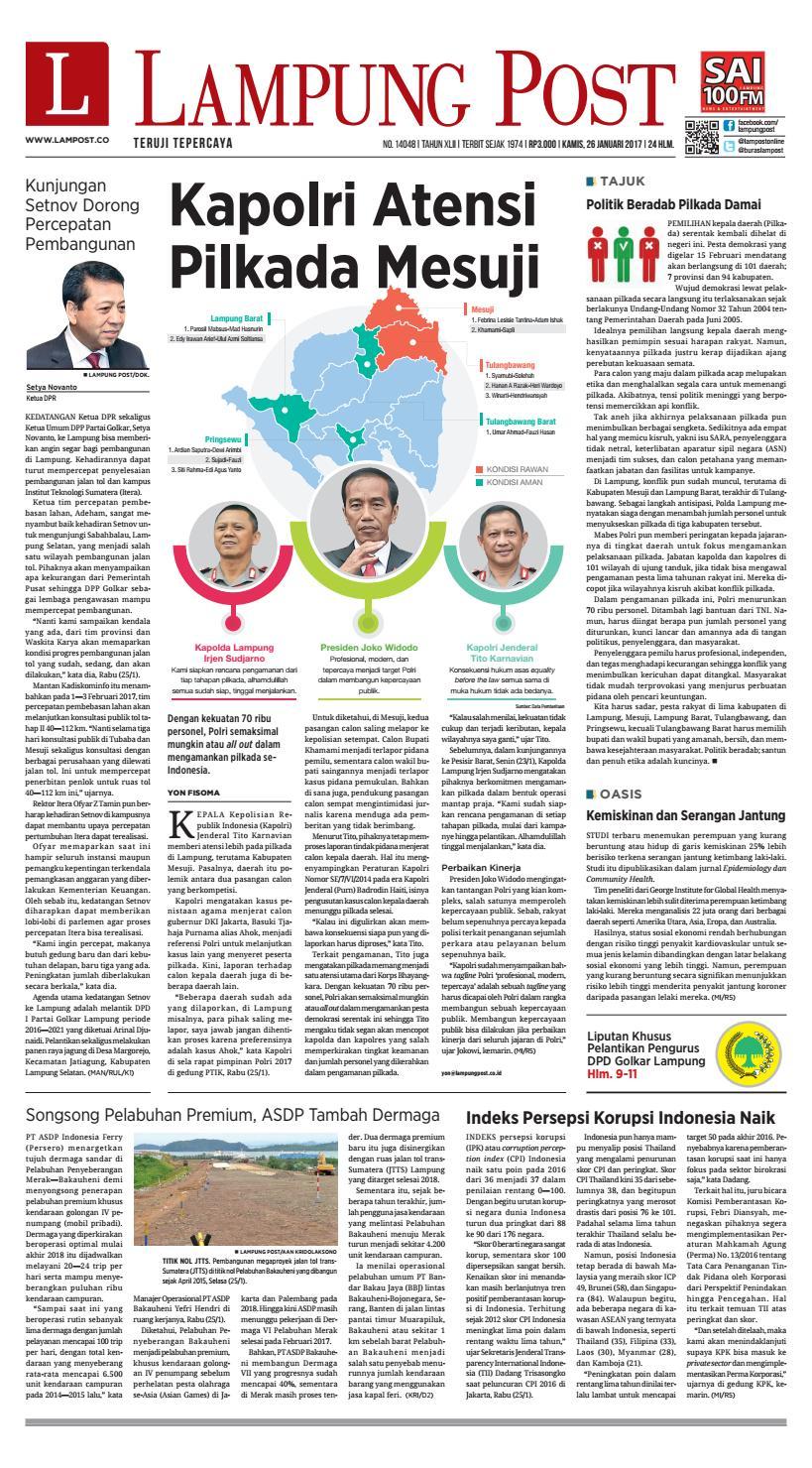 Lampung Post Kamis 2980314a2e