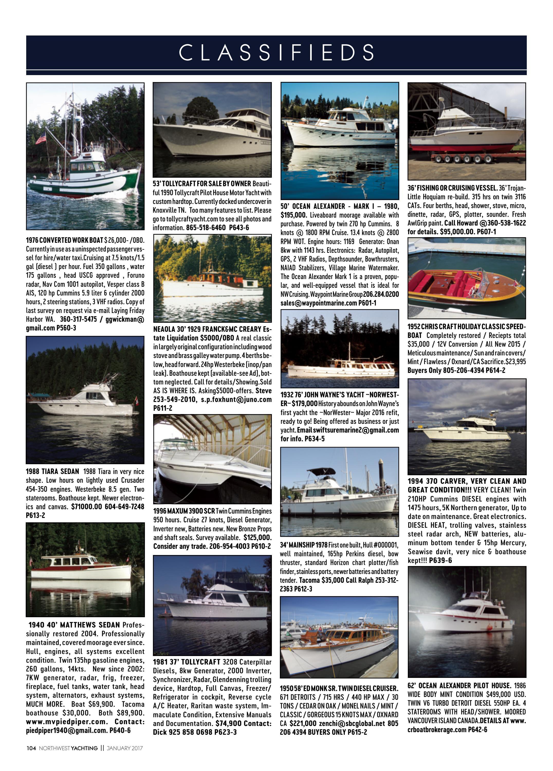 Northwest Yachting January 2017 by Northwest Yachting - issuu