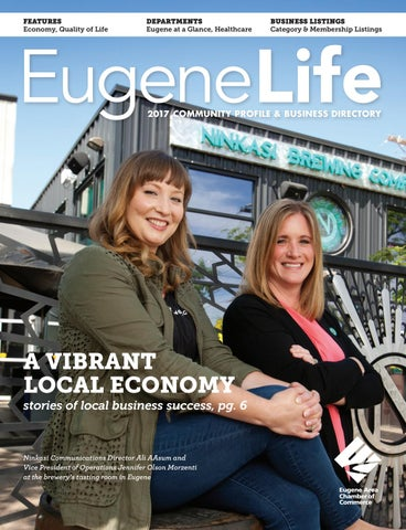 Features Economy Quality Of Life Departments Eugene At A