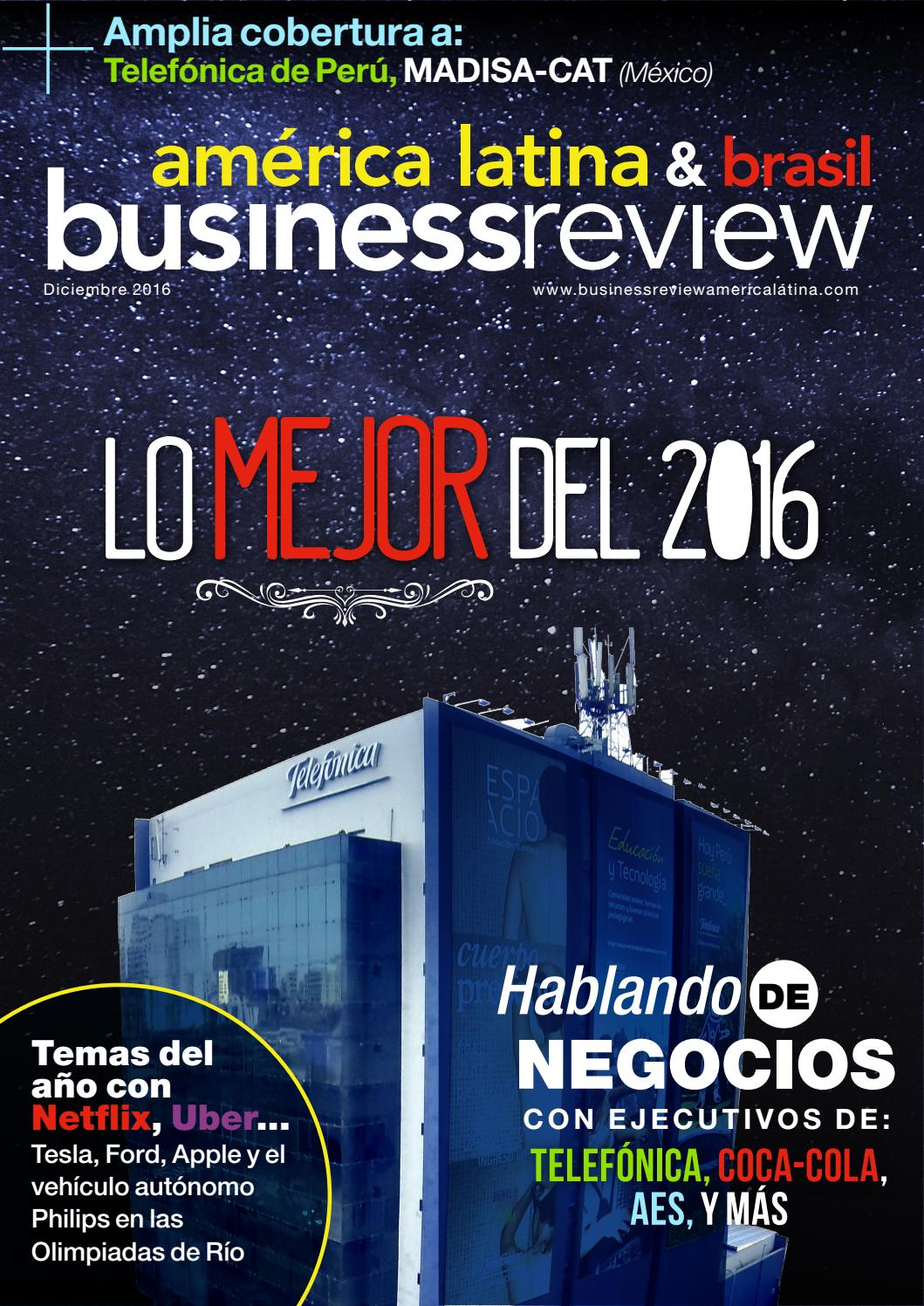 Business Review America Latina - Diciembre 2016 by Business Review ...