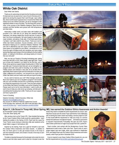 1dbf4299c328 The Scouter Digest - Winter 2017 by National Capital Area Council ...