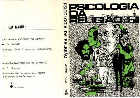 81624239f1c Psicologia da religião merval rosa by jefferson alves - issuu