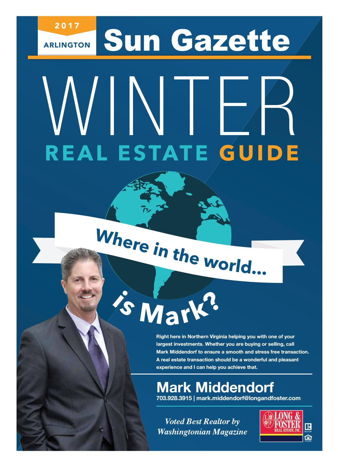 Sun Gazette Arlington Winter Real Estate Guide January 2017 By  # Magasins Fly A Colmac