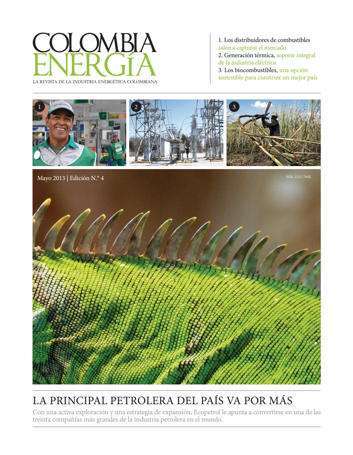 Revista colombia energia e4 by Lissette Morelos - issuu