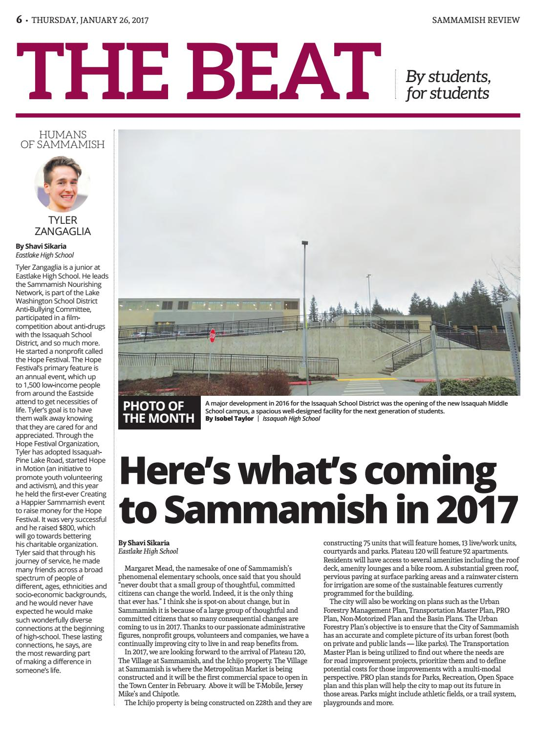 Sammamishreview012617 By The Issaquah Press Issuu