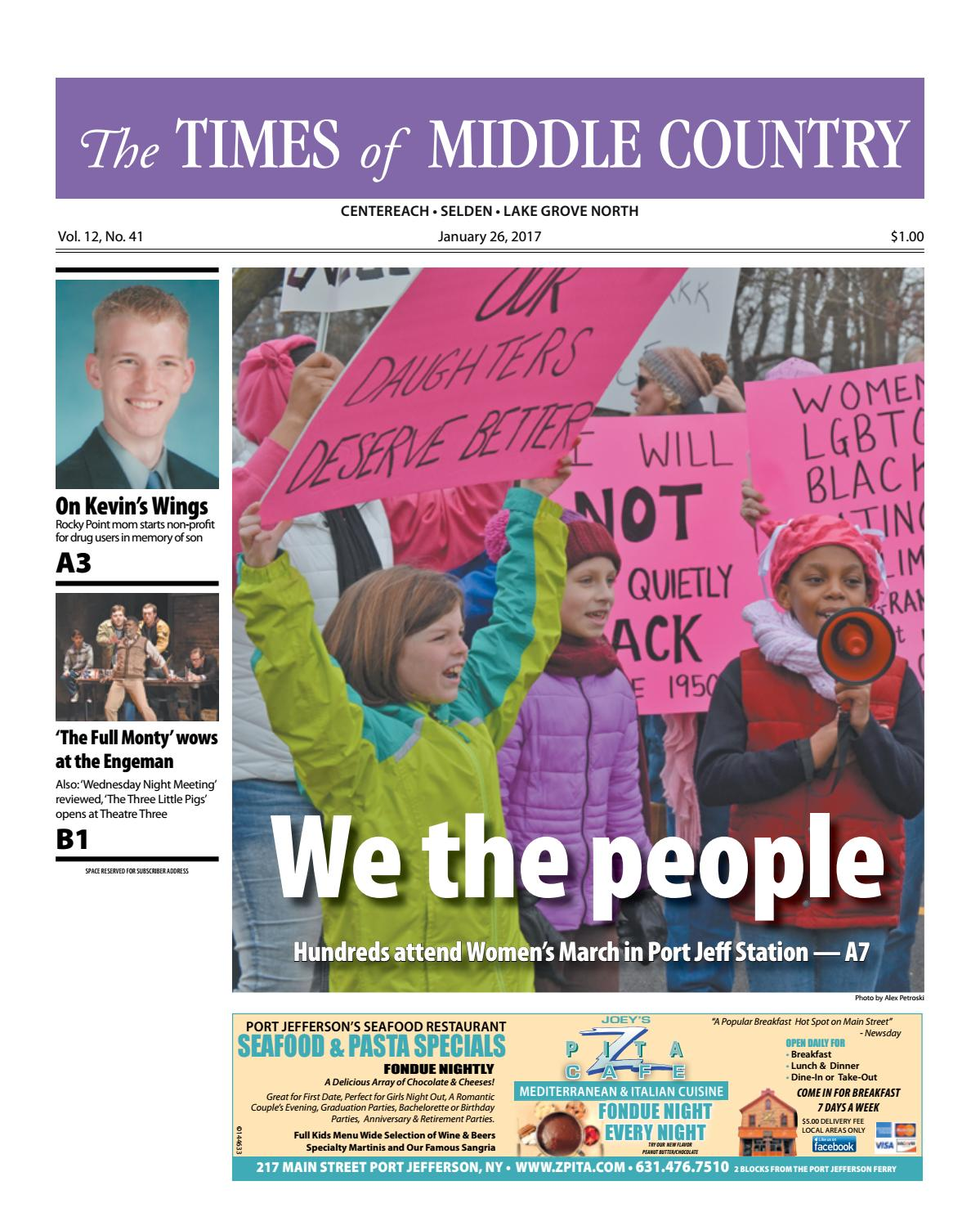 The Times of Middle Country - January 26, 2016 by TBR News Media - issuu
