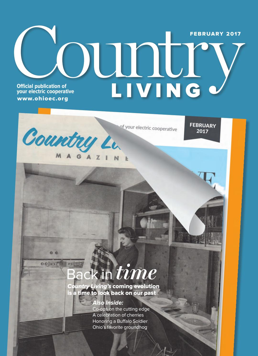 Country Living February 2017 Midwest By National Market