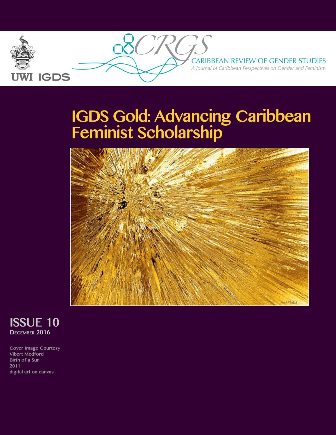 Crgs Issue 10 December 2016 By Institute For Gender And  # Muebles Jenny Montano