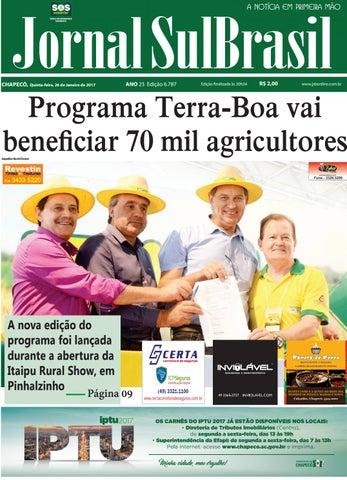 1cdfbab698 26 de janeiro sb by Jornal Sul Brasil Chapecó - issuu