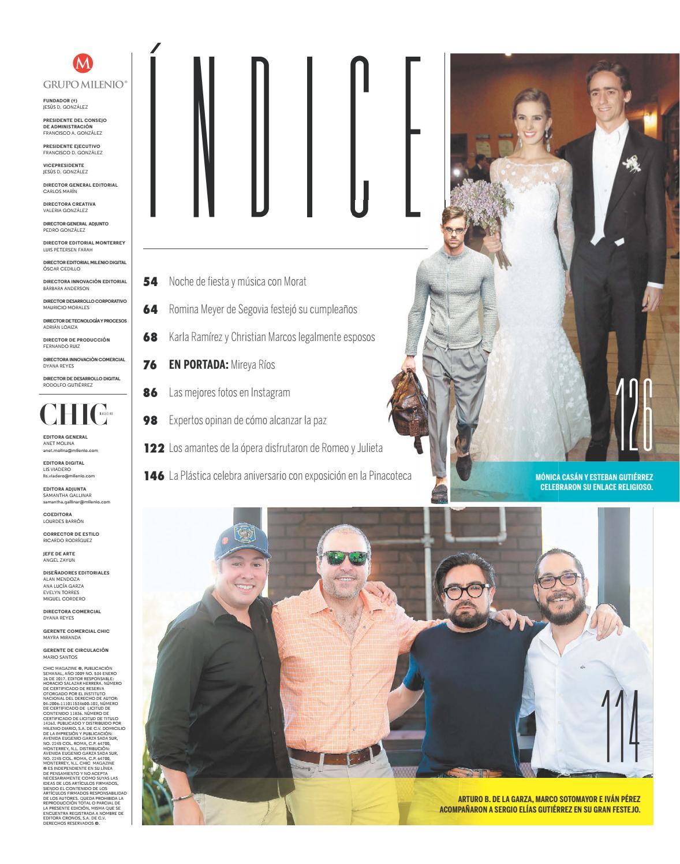 Chic Magazine Monterrey, núm. 534, 26/ene/2017 by Chic Magazine ...