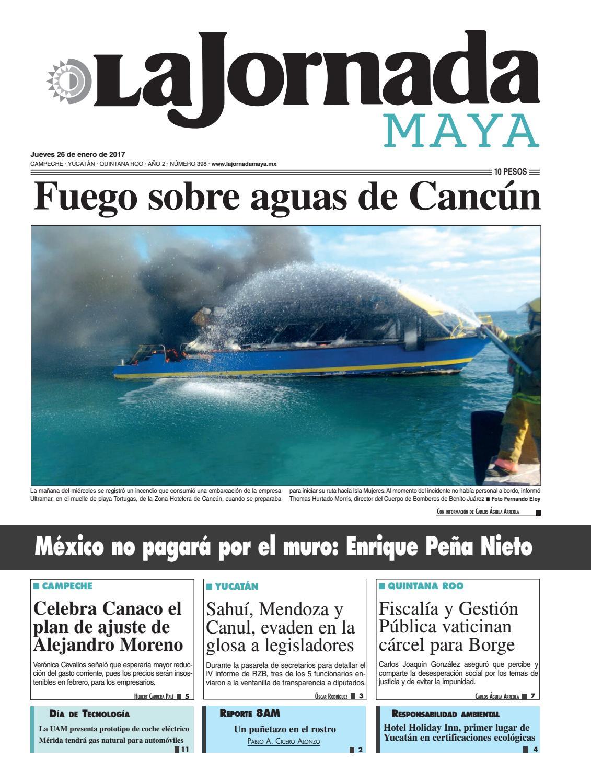 La Jornada Maya · Jueves 26 de enero, 2017 by La Jornada Maya - issuu