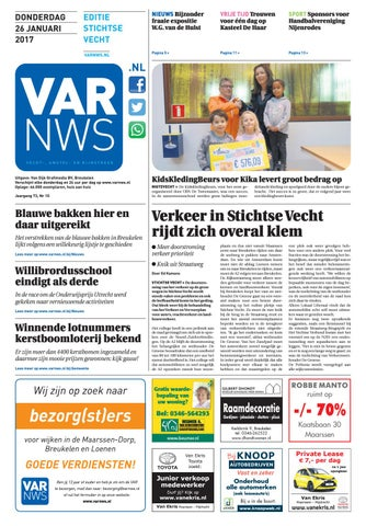 40834d9d152061 VARnws Stichtse Vecht 26 januari 2017 by VARnws - issuu