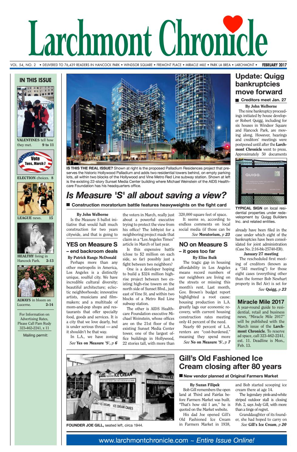 LC 02 2017 by Larchmont Chronicle - issuu