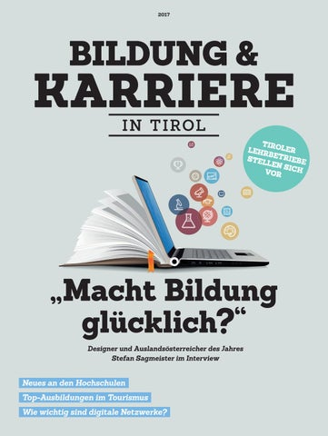 Bildung & Karriere in Tirol 2017 by TARGET GROUP Publishing GmbH - issuu