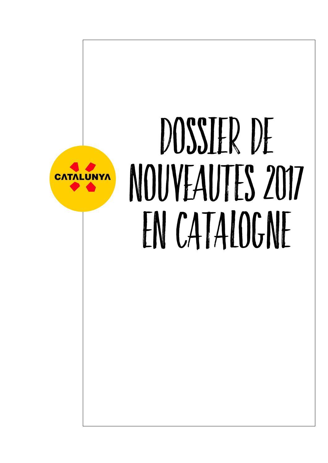 Dossier De Nouveaut S G N Rales 2017 Catalogne By Catalunya
