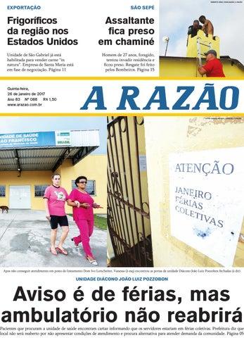 62835b1076 Jornal A Razão 26 01 2017 by Jornal A Razão - issuu