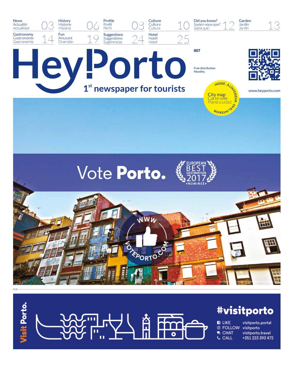 Hey Porto 7 Janeiro 2017 By Porto De Ideias Issuu