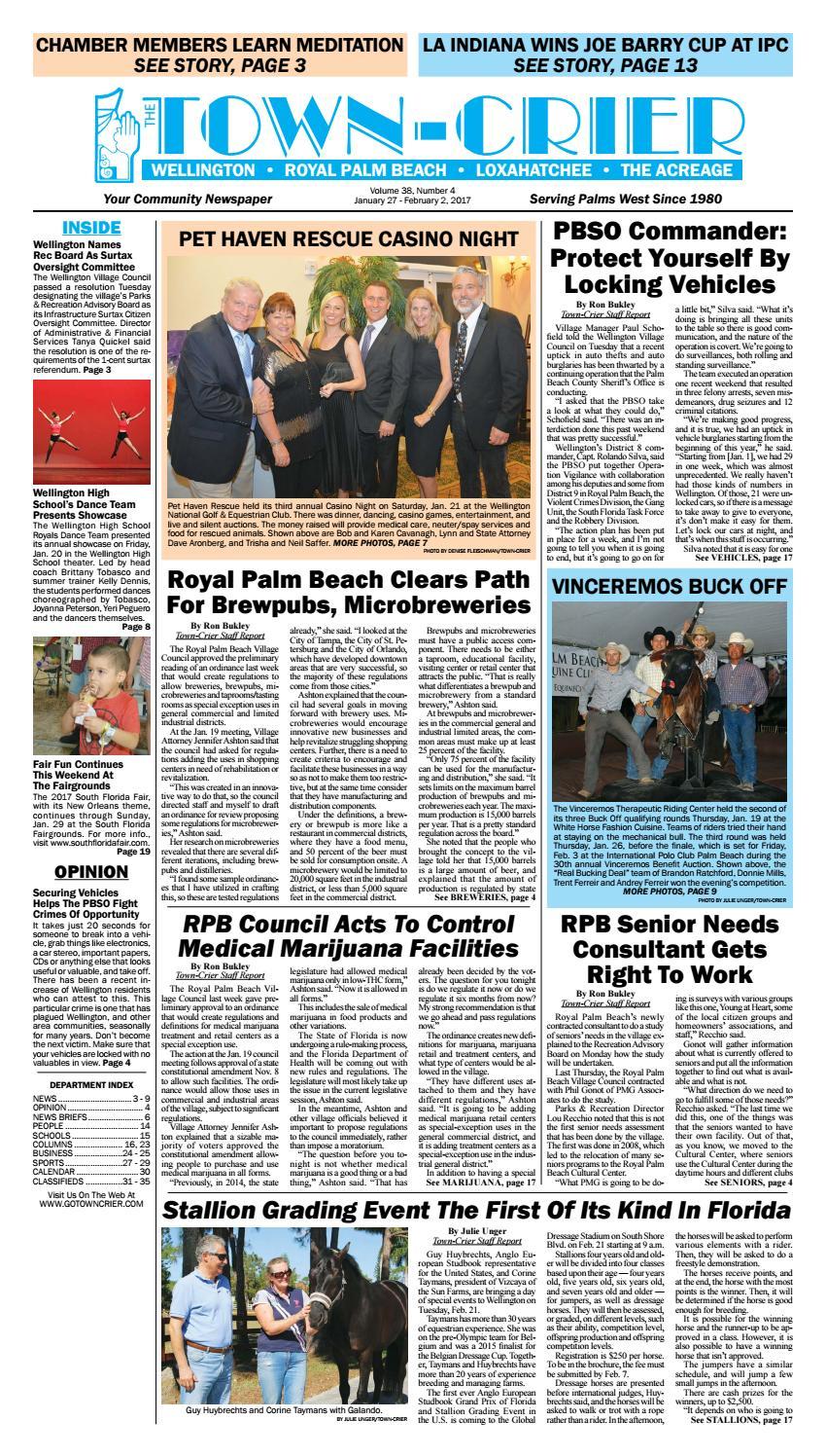 c8b5509a382b Town-Crier Newspaper January 26