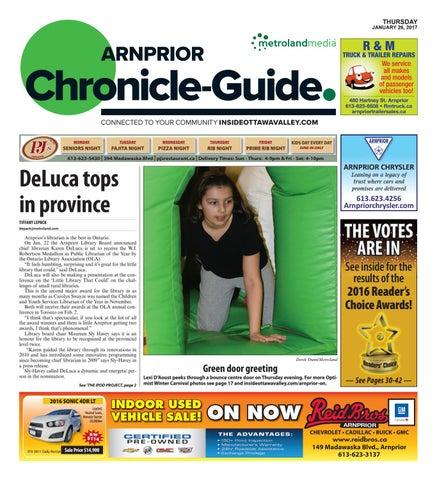 c4648178393c38 Arnprior012617 by Metroland East - Arnprior Chronicle-Guide - issuu