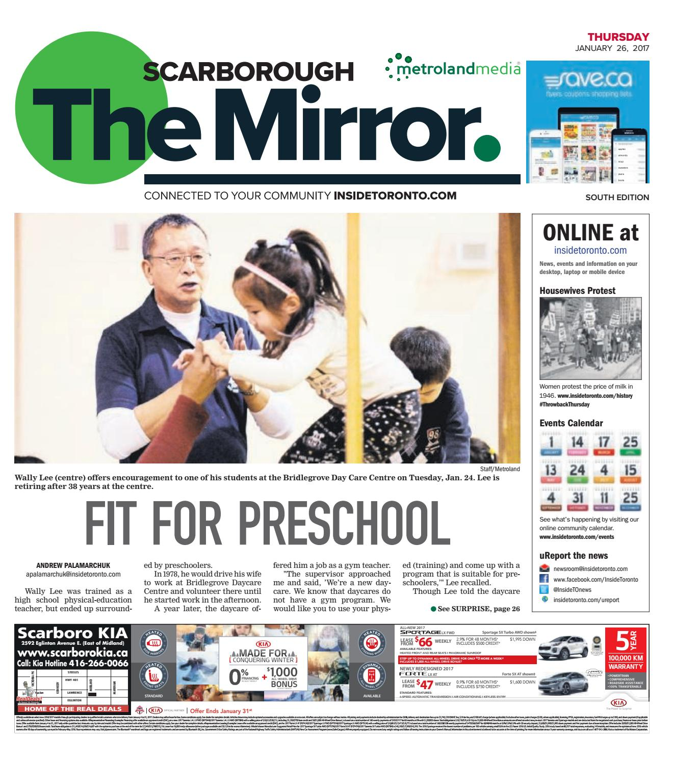 The Scarborough Mirror, South, January 26, 2017 by The Scarborough ...