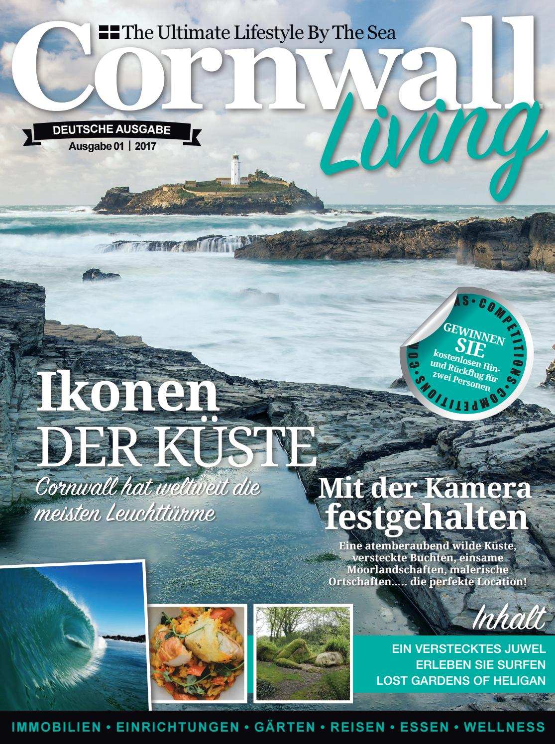 Cornwall Living Special Edition for Germany by Engine House Media ...
