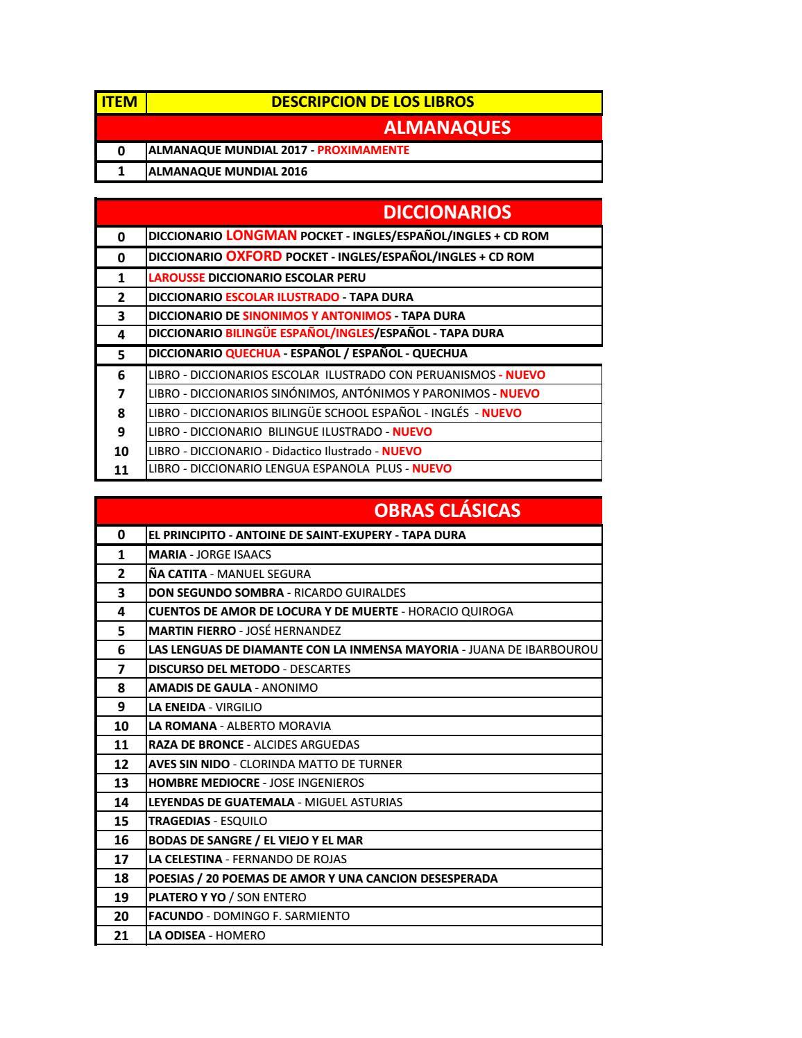 Lista general de precios guillermo stahl enero 2017 (m) by  www.stahlibrosdistribuidora.com - issuu b314ee86d7ca