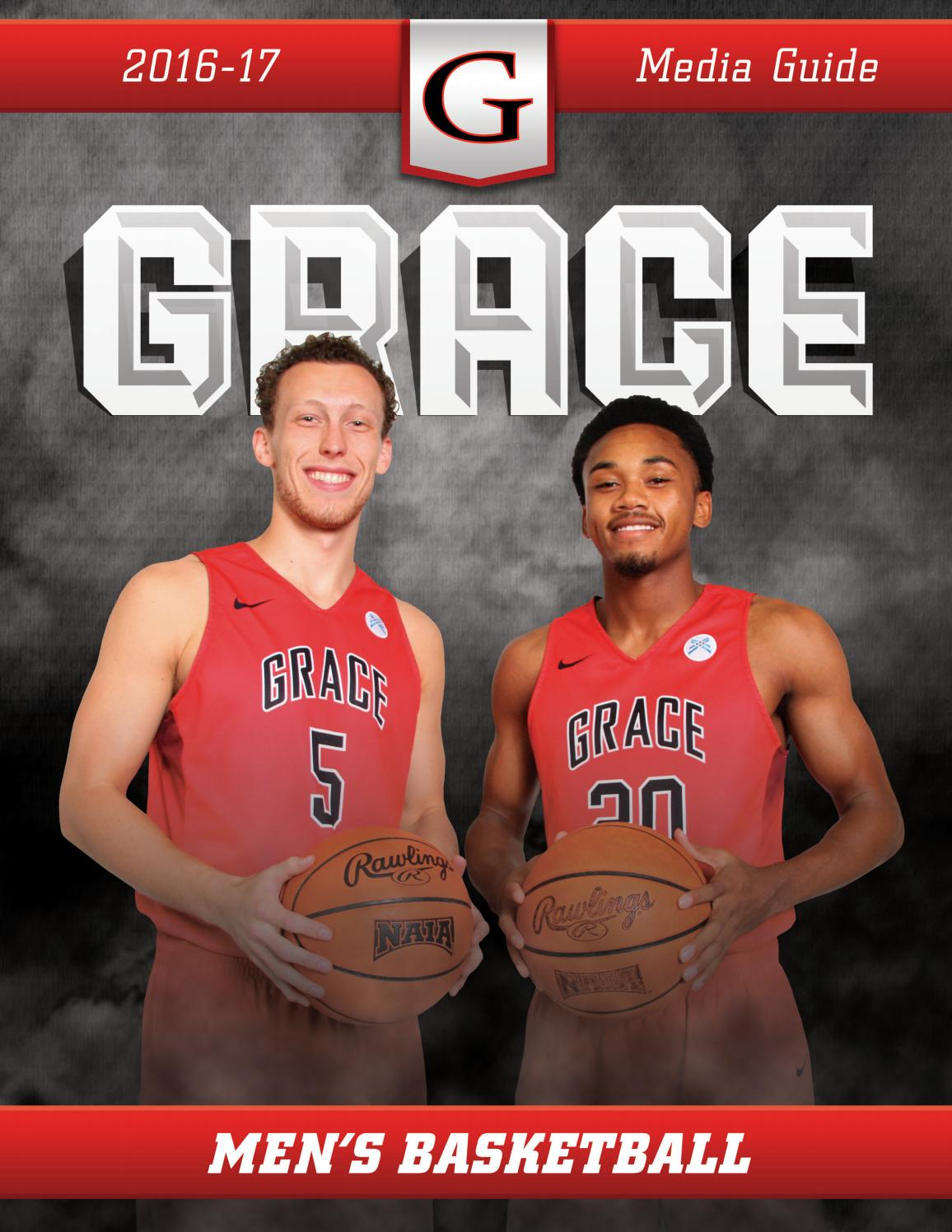 2016 17 Grace Basketball Media Guide By Grace College Lancers Issuu