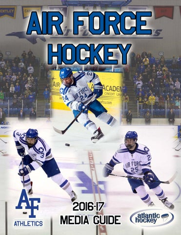 2016 17 air force hockey media guide by Dave Toller issuu