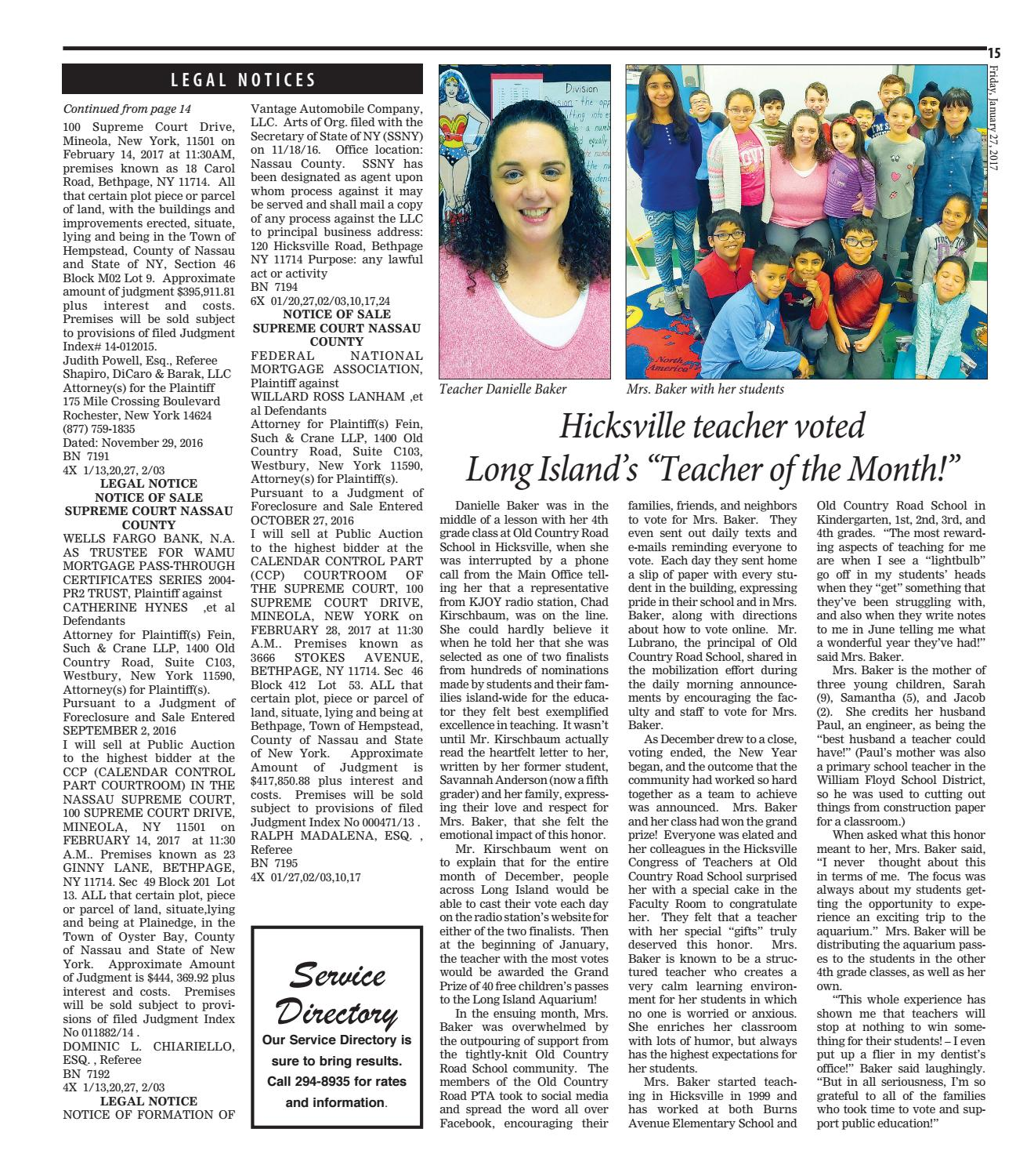 The Mid Island Times Levittown Times By Litmor Publishing Issuu