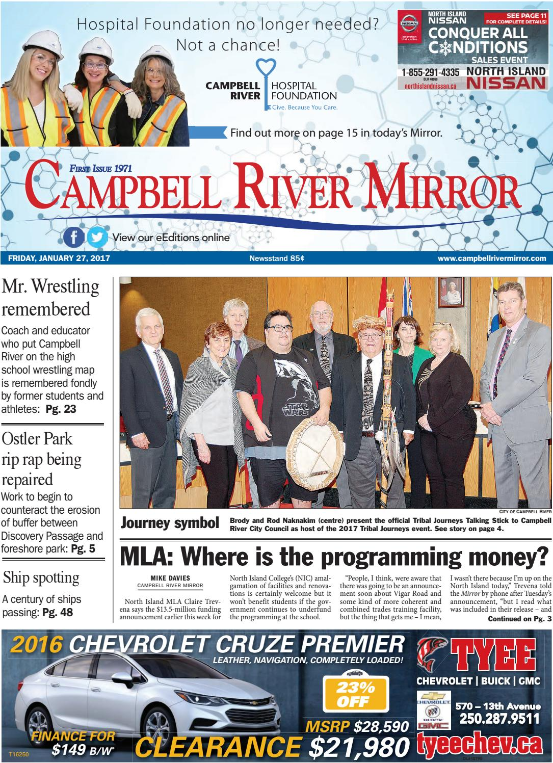 Campbell River Mirror January 27 2017 By Black Press Issuu
