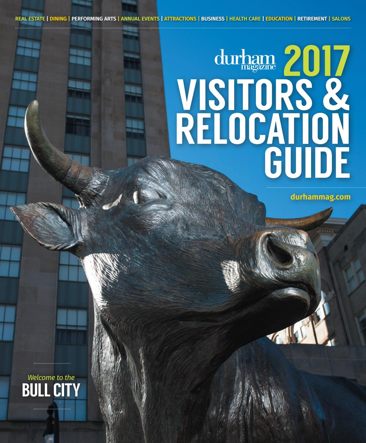 Durham Magazine 2017 Visitors & Relocation Guide by Shannon Media ...