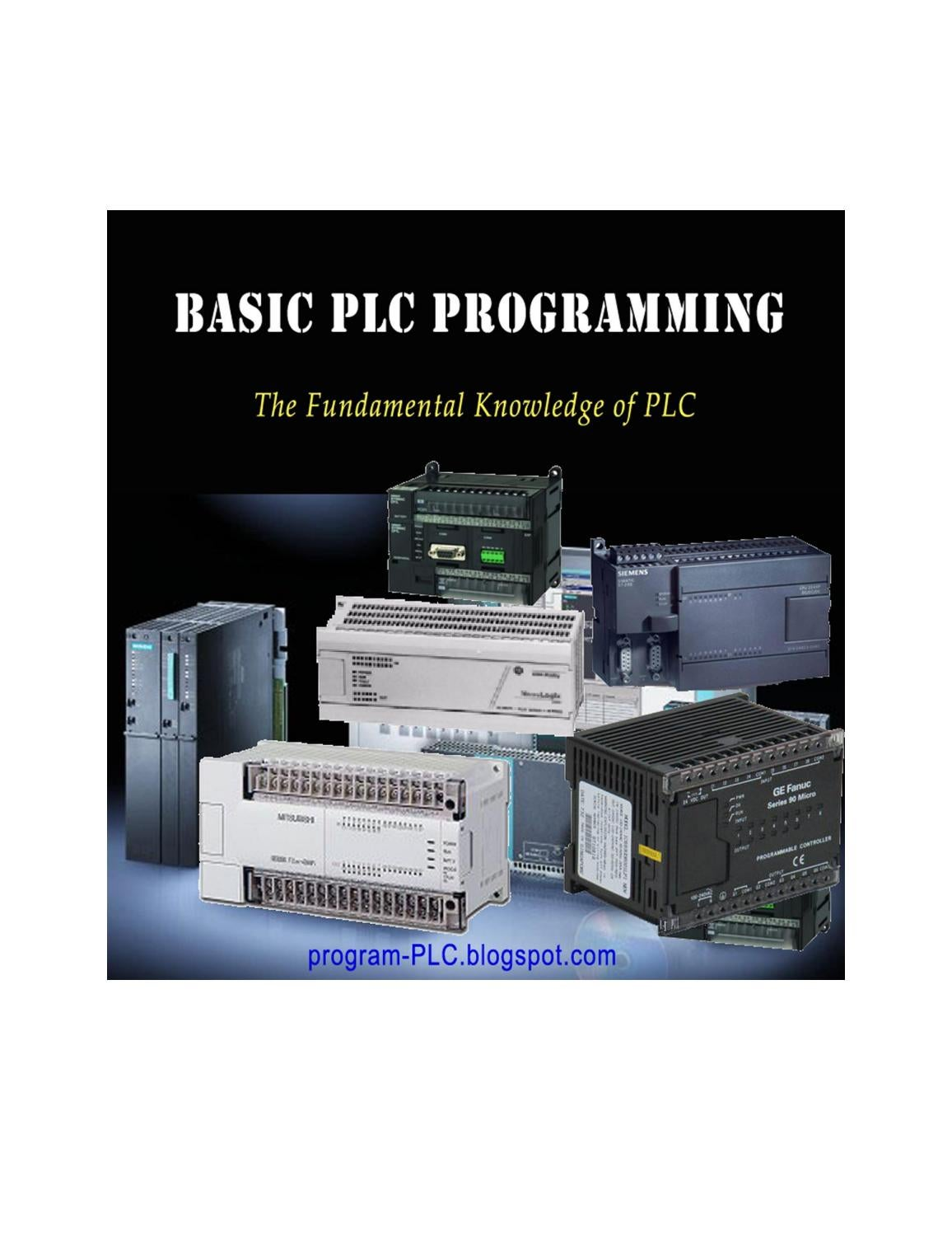 Basic Plc Programming By Angel Issuu Ladder Diagram Of Is Divided Into Figure