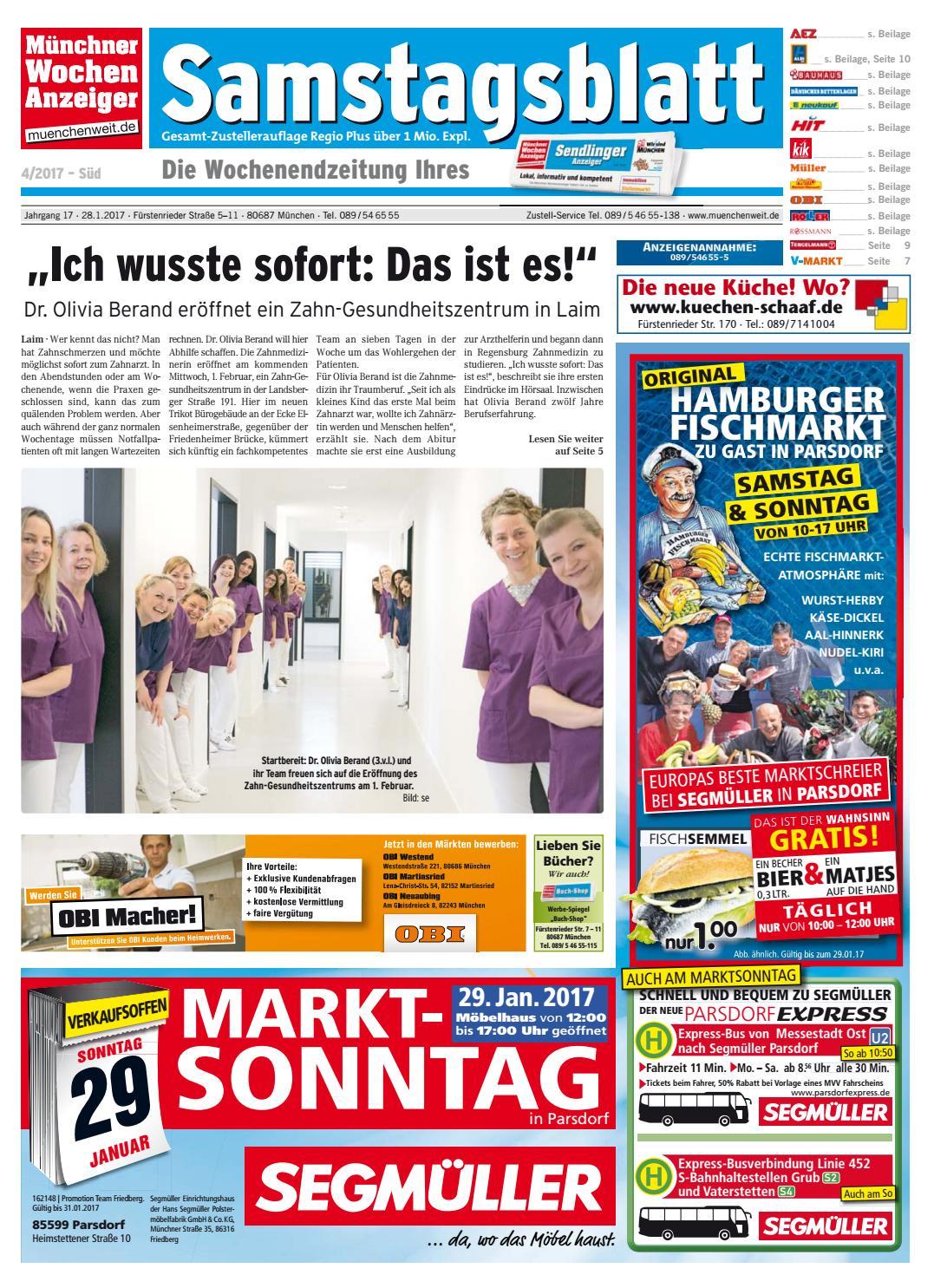 KW 04 2017 By Wochenanzeiger Me N GmbH Issuu