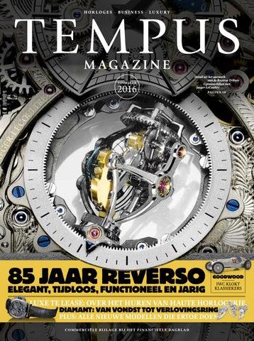 5c8195bc9ce Tempus Magazine, editie 14 by MI7 Media Intelligence / Mischa van de ...