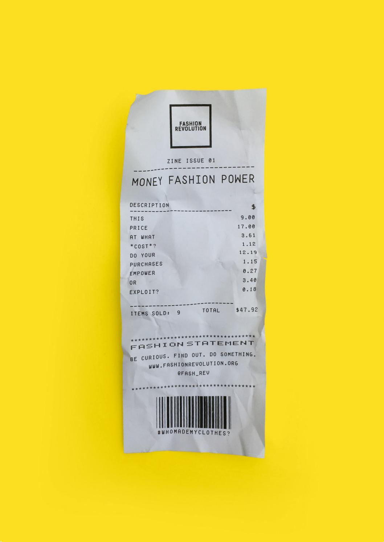 14711933e5 Fashion Revolution fanzine  001 MONEY FASHION POWER by Fashion Revolution -  issuu