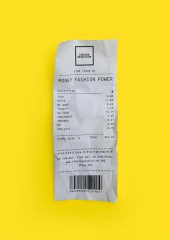 484a885f225b4e Fashion Revolution fanzine  001 MONEY FASHION POWER by Fashion ...