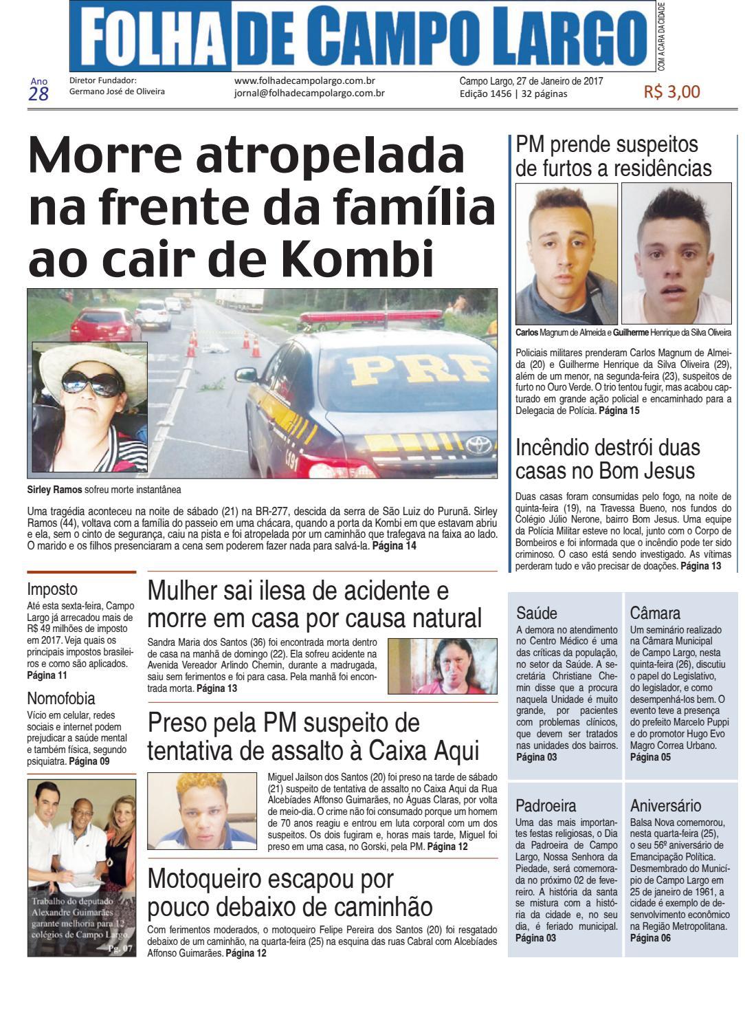 Folha de Campo Largo by Folha de Campo Largo - issuu 82ea172f30f19