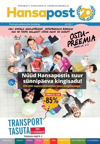 f36d5f445c6 Hansapost kataloog detsember 2016 by Hansapost OY - issuu