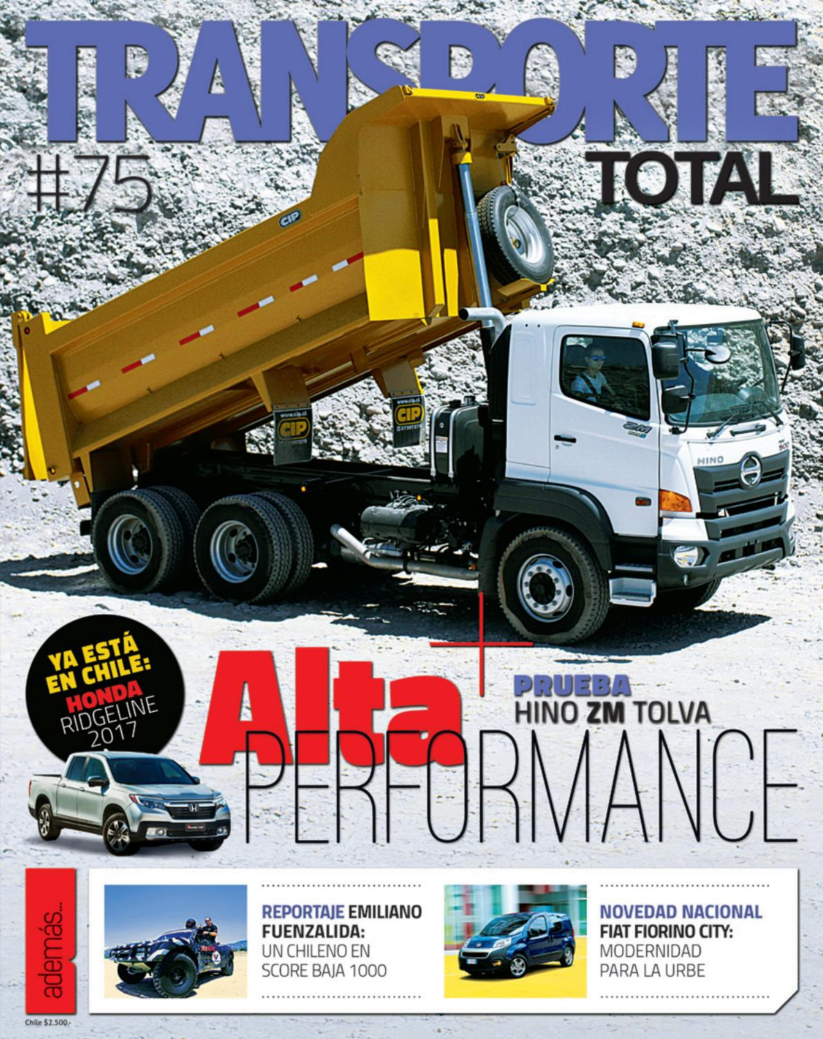 Revista Transporte Total Nº 75 (Enero 2017) by RS Chile - issuu
