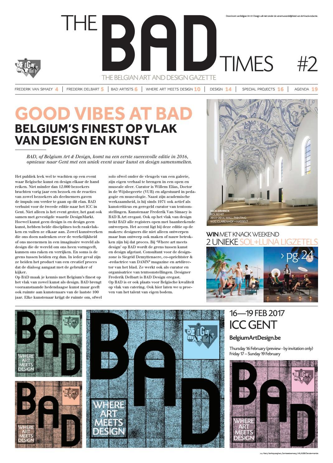 bad editie 2017 by bad belgium art design issuu. Black Bedroom Furniture Sets. Home Design Ideas