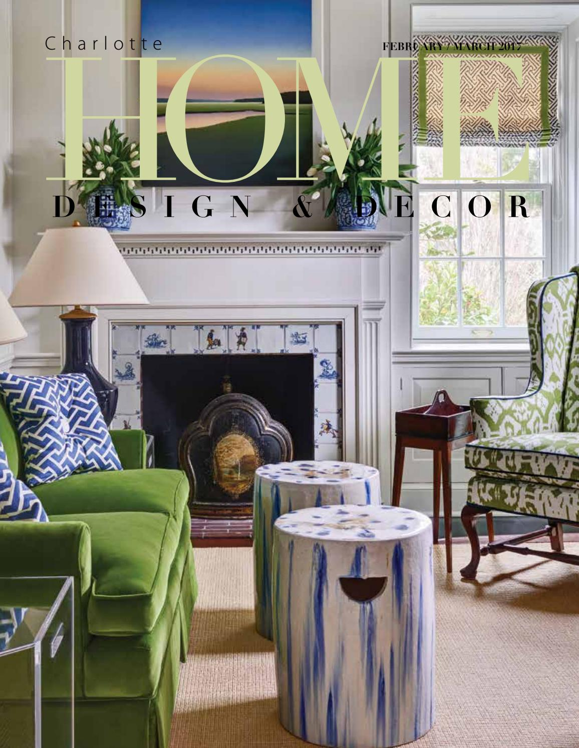 home design decor magazine febmarch 2017 issue - Home Design Magazine