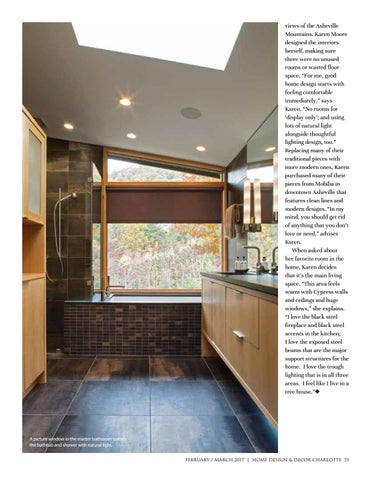 good home designs. Karen Moore designed the interiors herself  making sure there were no unused rooms or wasted floor space For me good home design starts with feeling Home Design Decor Magazine Feb March 2017 Issue by