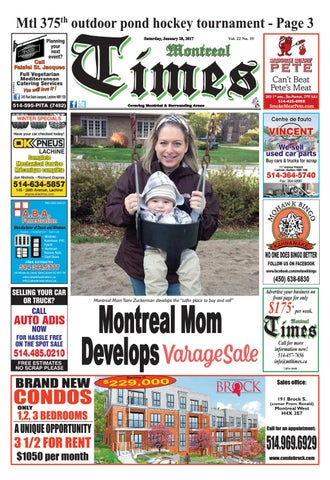 Montreal Times 22 35 Jan 28 2017 by Montreal Times - issuu