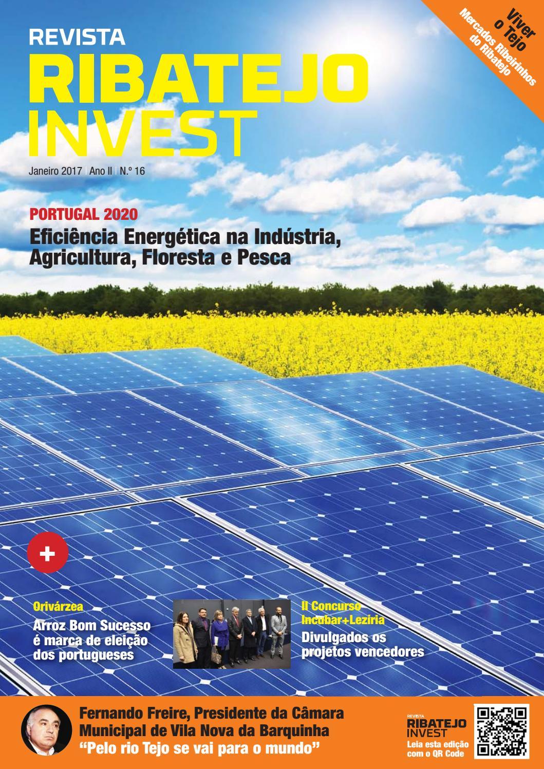 Revista Ribatejo Invest   janeiro 2017 by NERSANT Associação Empresarial -  issuu a88bfbf142e16