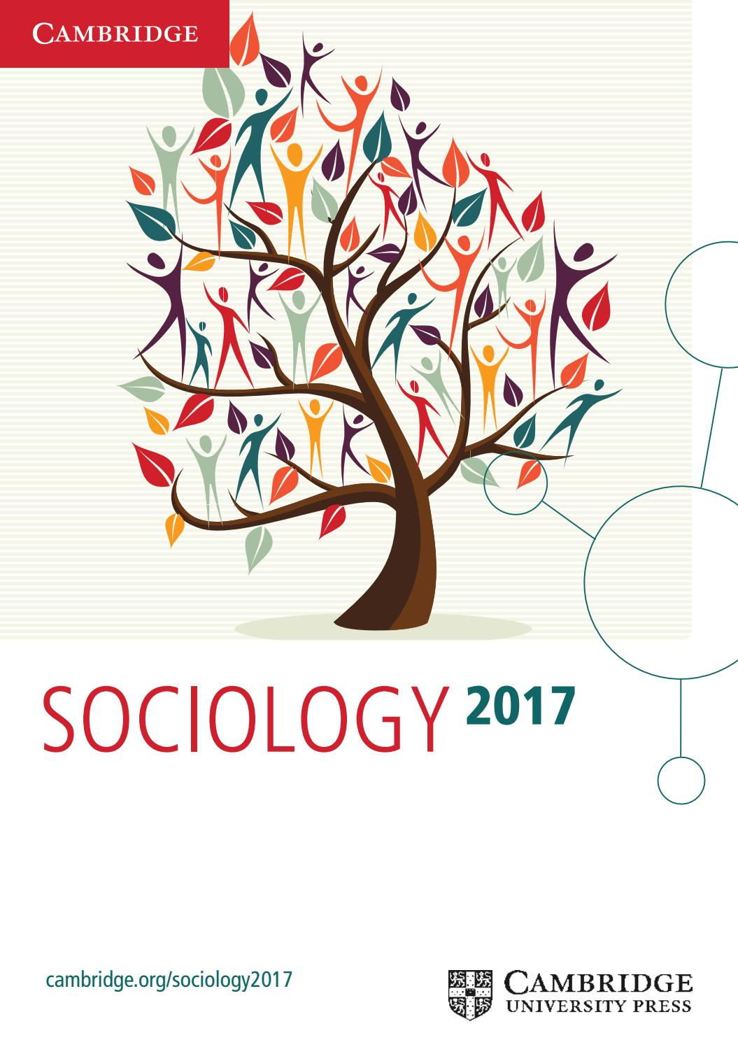Sociology catalogue 2017 by cambridge university press issuu fandeluxe Images