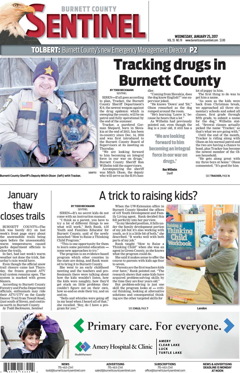 Workbooks workbook to accompany medical assisting answers : Burnett County Sentinel 01 25 2017 by Burnett County Sentinel - issuu