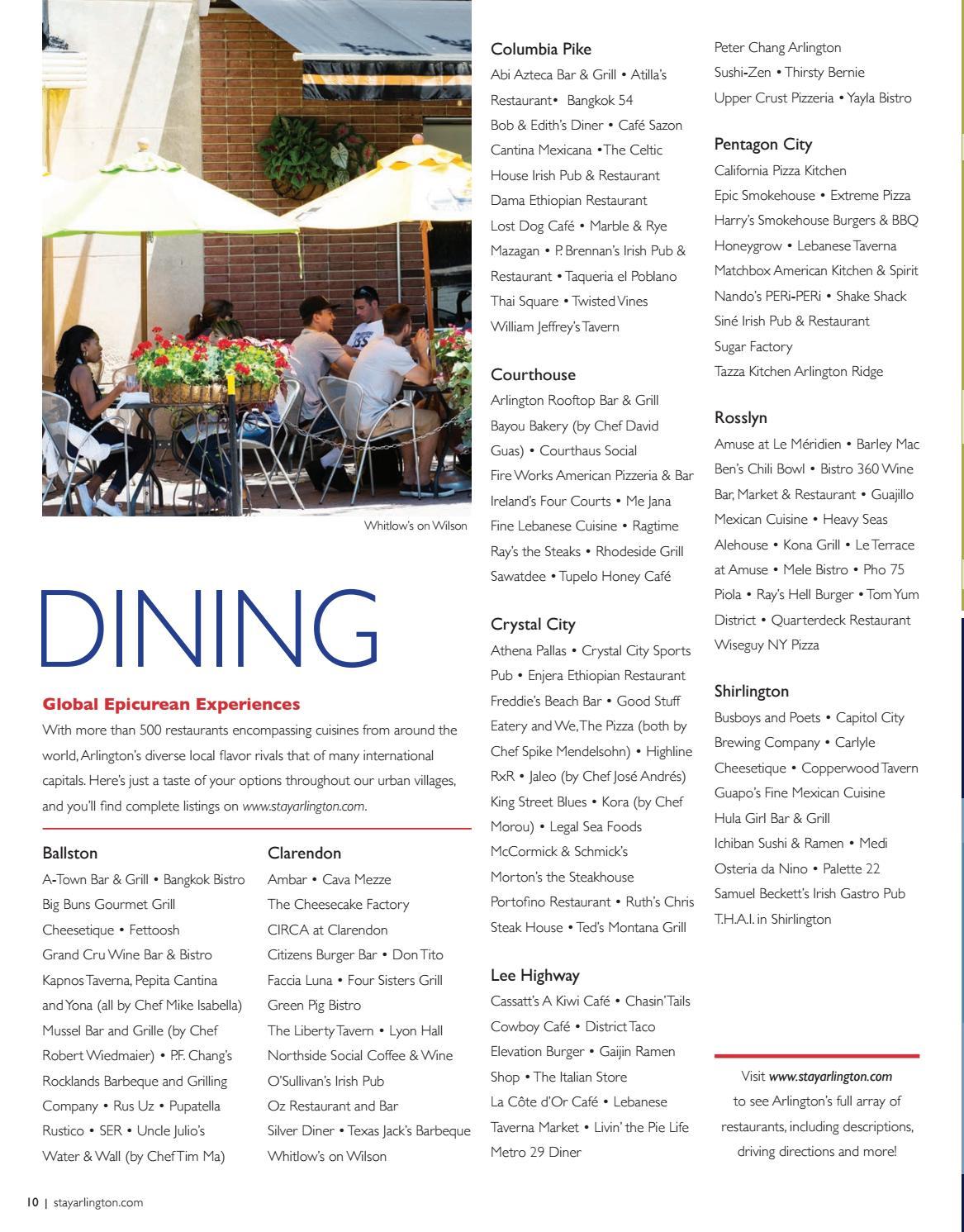 Arlington, Virginia Visitors Guide 2017-2018 by VistaGraphics - issuu