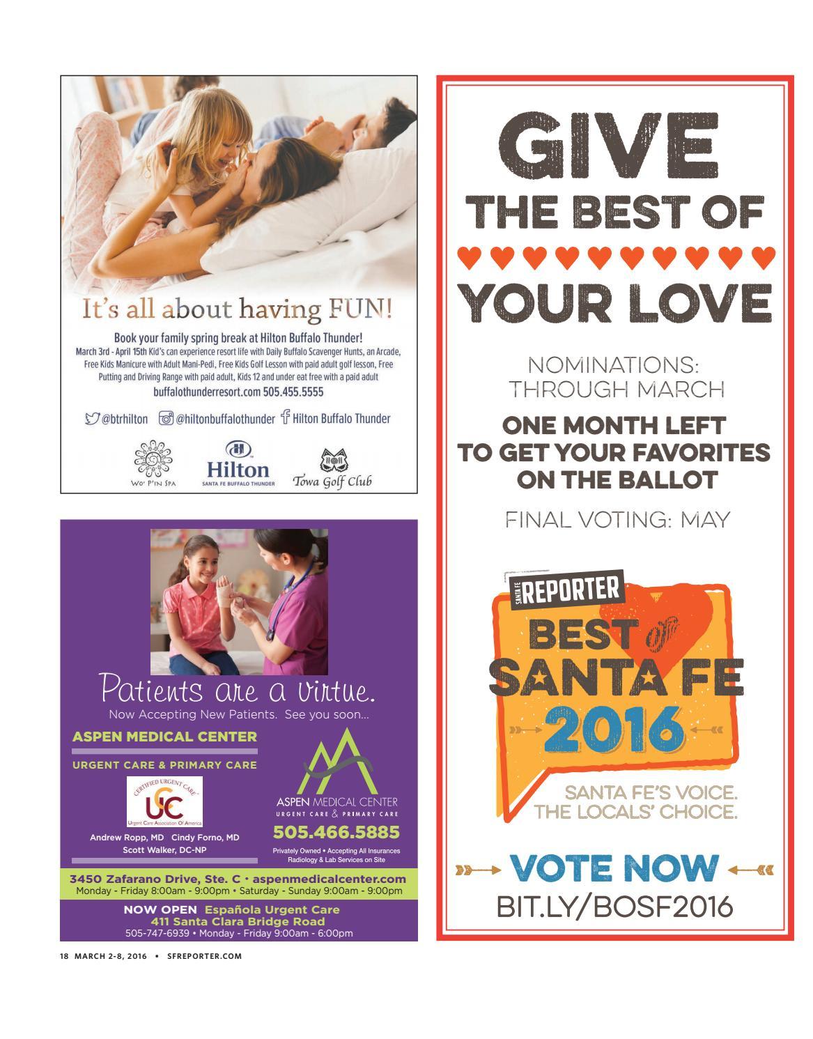 March 2, 2016 Santa Fe Reporter by Santa Fe Reporter - issuu