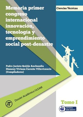 095e15c401dd Memoria congreso innovación tomo uno by Editorial Mar Abierto - issuu